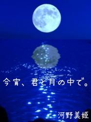 今宵、君と月の中で。